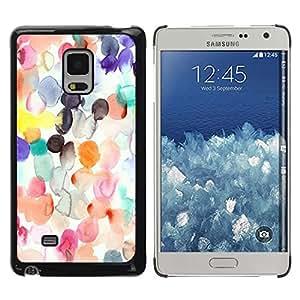 Be Good Phone Accessory // Dura Cáscara cubierta Protectora Caso Carcasa Funda de Protección para Samsung Galaxy Mega 5.8 9150 9152 // White Paper Kids Silk
