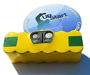 iRobot Roomba 580 - AeroVac Battery - High Capacity Replacement for iRobot 80501 Robotic Vacuum Cleaner Battery (3500mAh, 14.4V, NI-MH)