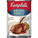 Campbell'sGravy, Brown Gravy with Onions, 10.5 oz. Can