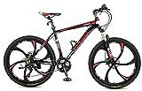 Merax Finiss 26' Aluminum 21 Speed Mg Alloy Wheel Mountain Bike