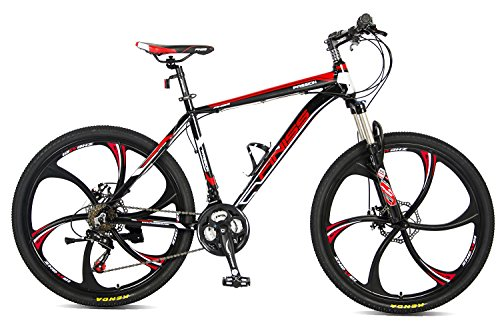 Merax MS008700BAA Finiss 26' Aluminum 21 Speed MG Alloy Wheel Mountain Bike