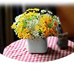 WensLTD-28-Head-Artificial-Silk-Fake-Flowers-Small-Daisy-Wedding-Bouquet-Party-Home-Decor-28-Head-Yellow