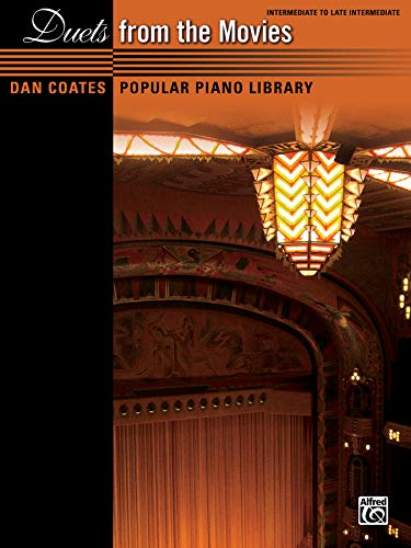 (Dan Coates Popular Piano Library -- Duets from the Movies)