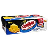 Combos Cheddar Cheese Cracker Baked Snacks, 30.60 oz, 18 Single Serving Bags