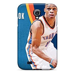 Samsung Galaxy S4 YGG6039XWoe Custom Trendy Oklahoma City Thunder Pictures Scratch Protection Hard Cell-phone Case -DannyLCHEUNG