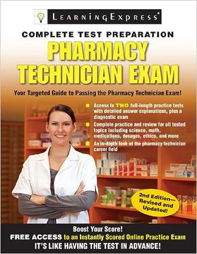Amazon pharmacy technician exam ebook learning express llc pharmacy technician exam 2nd edition kindle edition fandeluxe Gallery