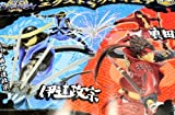 Sega Sengoku BASARA extra figure Basara anime prize (with all two full set + Poster bonus)