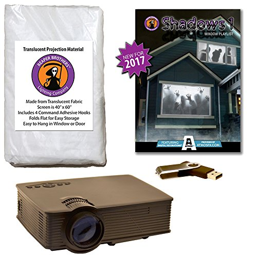 AtmosFearFX Shadows1 Compilation Video - 1900 Lumen Projector Kit on USB. Includes Effects from Bone Chillers, Shades of Evil, Night Stalkers, Zombie Invasion & Tricks & Treats]()