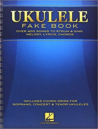 Amazon Ukulele Fake Book Full Size Edition 0888680032395