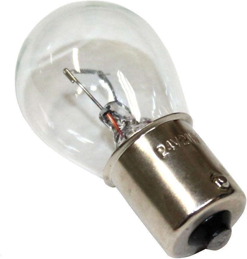 semirremolque C1684 Juego de 10 bombillas 24V P21W para cami/ón remolque AERZETIX