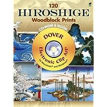 120 Hiroshige Woodblock Prints CD-ROM and Book
