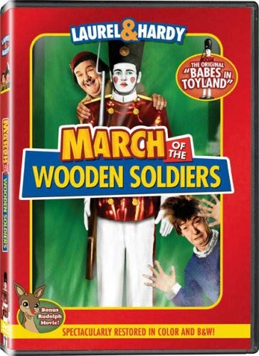 March of the Wooden Soldiers (Colorized / Black & White)
