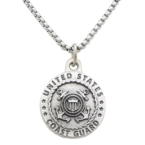 Rosemarie Collections St Michael Military Branch Pendant Necklace