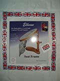 "Elbesee Embroidery Seat Frame Includes 6"", 8"" and 10"" Hoops Made in Great Britain!"