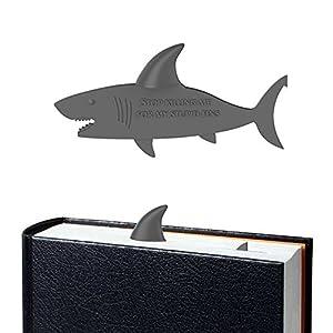 Marcador de libro de tiburón de OYLZ | Regalos para lectores - Letras y Latte
