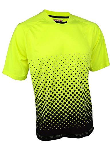 Jerseys Neon Green - Vizari Ventura Short Sleeve Goalkeeper Jersey, Neon Green/Black, Size Adult Small