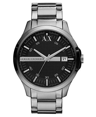 Armani Exchange Men's AX2103 Analog Display Analog Quartz Silver Watch, Man, Gentleman, Model:AX2103, Whristwatch, Wrist Watch