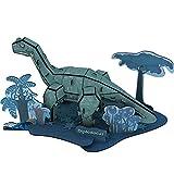 HugeHug 3D Assembling Dinosaur Paper Model - Easy to Assemble (Diplodocus)