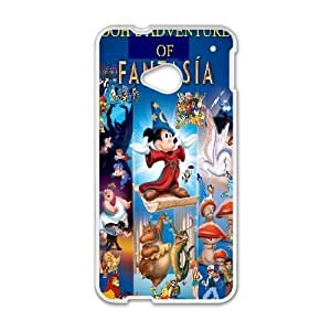 HTC One M7 White phone case Classic Style Disney Cartoon Fantasi OBN8955920
