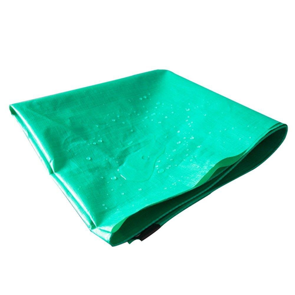 LQQGXL Grüne Plane, Auto rearproof Shed Tuch Sonnenschutzmittel Frostschutzmittel Kunststoff Öldecke Antioxidation Wasserdichte Plane