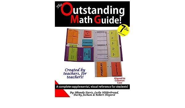 outstanding math guide 7th grade common core rhonda davis and rh amazon com 7th Grade Math Notes 7th Grade Math Notes