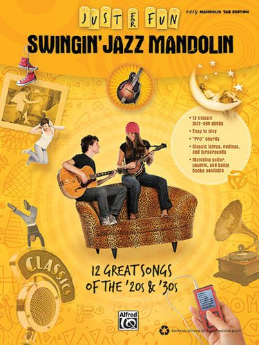 Swingin' Jazz Mandolin: Just for Fun -