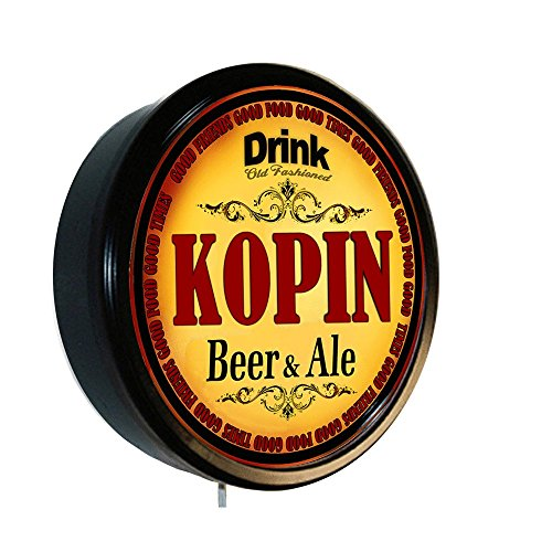 Kopin Beer And Ale Cerveza Lighted Wall Sign