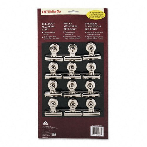 (Boston : Bulldog Magnetic Clips, Steel, 2-1/4
