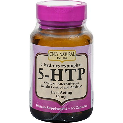 Only Natural 5 Htp 50Mg 45 Cap