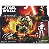 Official Star Wars The Force Awakens Vehicle & Figure (Assault Walker/Stormtrooper Sergeant) **NEW**