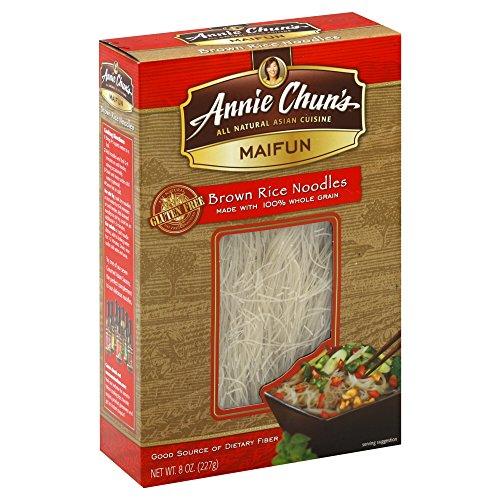Annie Chun's Maifun Brown Rice Noodles, 8 oz, 2 pk