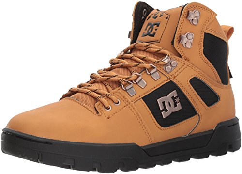 DC Men's Spartan High WR Boot, Wheat/Dark Chocolate, 12 D D US