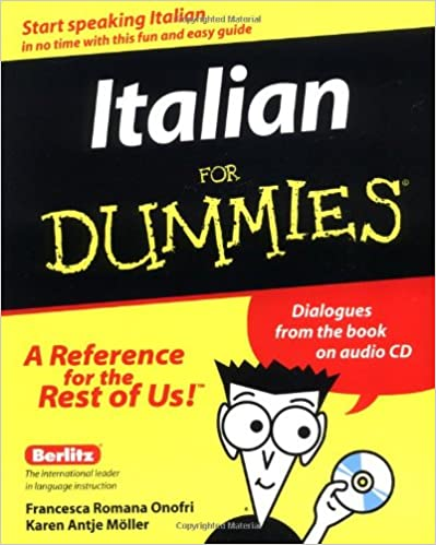 Amazon italian for dummies with audio cd 9780764551963 amazon italian for dummies with audio cd 9780764551963 francesca romana onofri karen antje mller books m4hsunfo