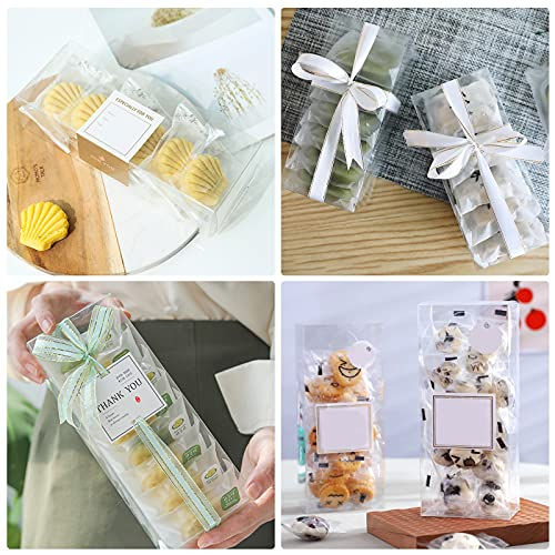 VGoodall Clear Favor Boxes, 30 PCS Plastic Gift Boxes Transparent Cube Boxes PET Boxes for Wedding, Party, Baby Shower, Bridal Shower