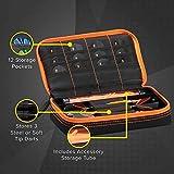 Casemaster by GLD Products Plazma Black with Orange