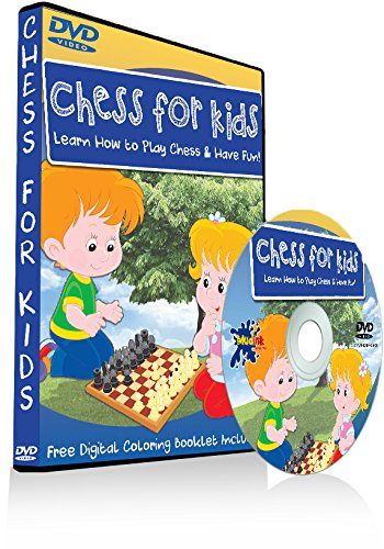 Chess for Kids - Learn How to Play & Have Fun! - Free Coloring Book Included