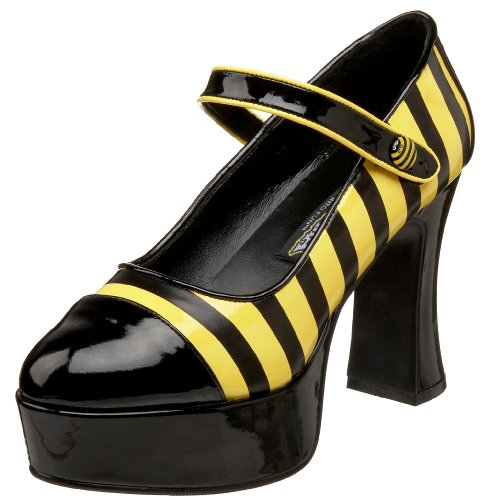 Funtasma BUZZ-66 Blk-Yellow Pat Size UK 8 EU 41