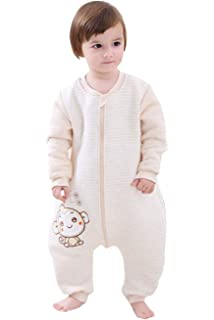 BabyFat Sacos de Dormir/Pijama para Bebé Niño Unisex Otoño/Invierno 2.5 Tog -