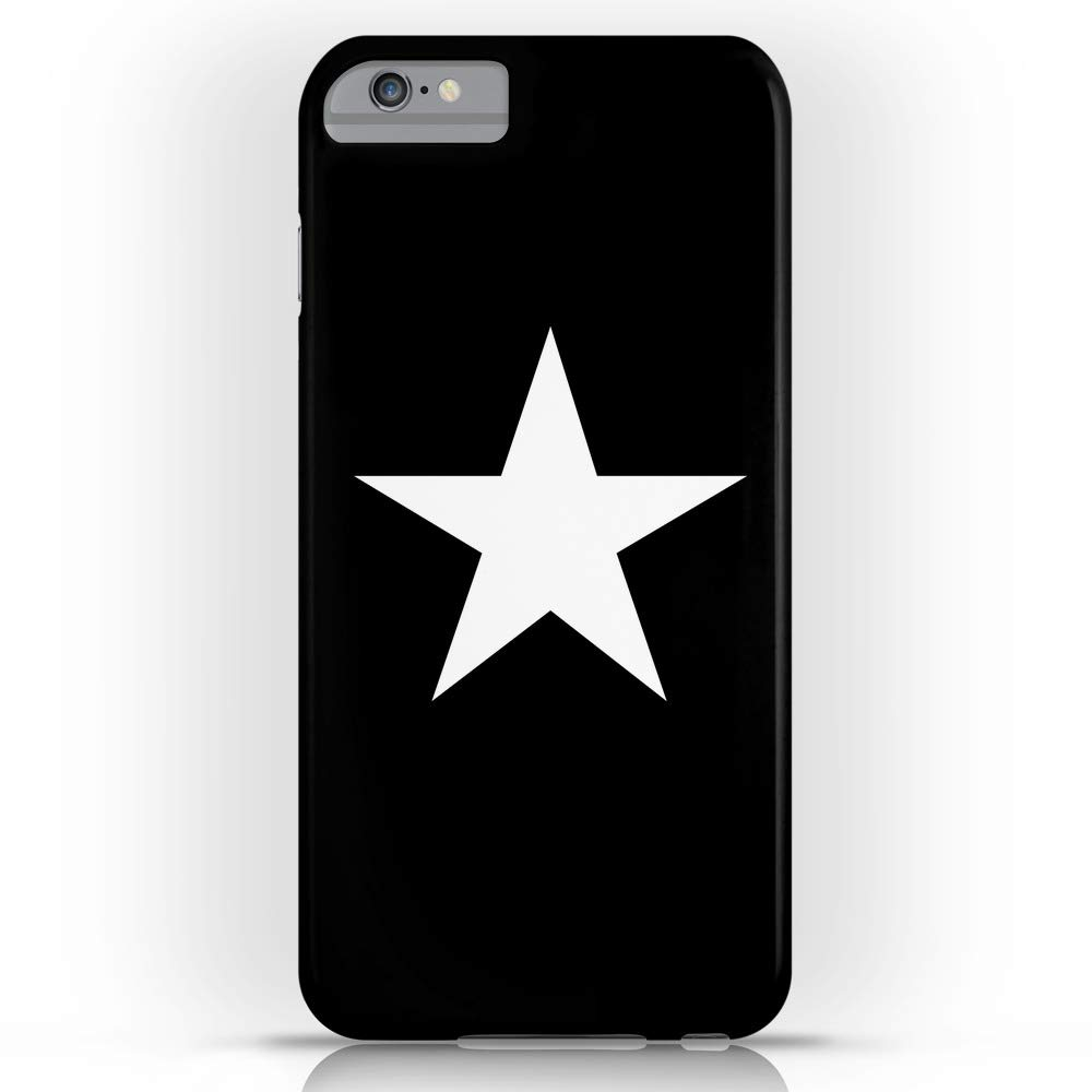 best service 5e060 9f88c Amazon.com: Society6 iPhone 7 Cases, Featuring White Star on Black ...