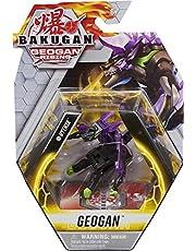 Bakugan Geogan Rising 2021 Darkus Hyenix Geogan samlarobjekt actionfigur och samlarkort