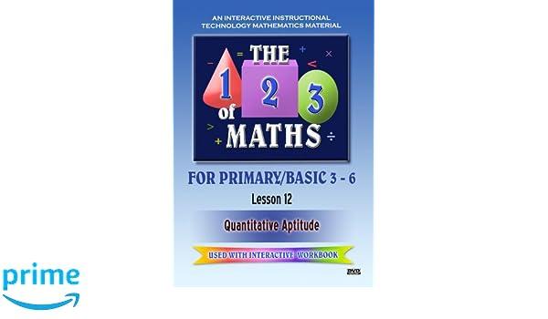 Amazon com: The 123 of Maths : Les  12 Quantitative Aptitude