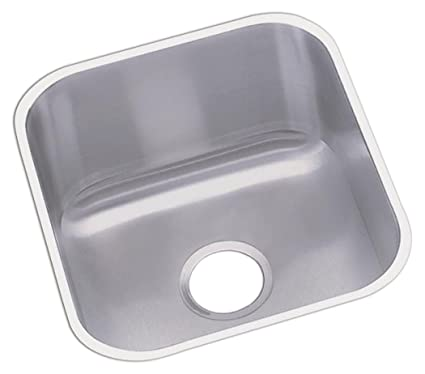 Dayton DXUH1618 Single Bowl Undermount Stainless Steel Bar Sink