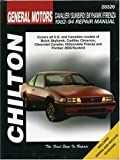 GM Cavalier, Sunbird, Skyhawk, and Firenza, 1982-94 (Chilton Total Car Care Series Manuals)