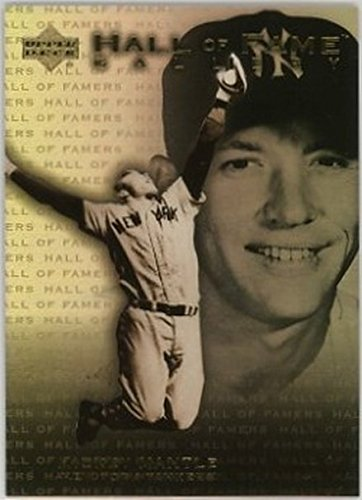- 2001 Upper Deck Hall of Famers Gallery #G7 Mickey Mantle NM-MT Yankees