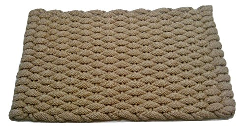 Rockport Rope 2438601 Super Duty Pet Mat, 24'' x 38'', Large, Tan by Rockport Rope Doormats (Image #4)