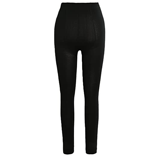 1d858f17f6366 Image Unavailable. Image not available for. Color: Romacci Sexy Women  Autumn Winter Leggings Solid High Elastic Waist Thick Warm Tights Bodycon  Pants