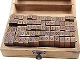Alphabet Stamps Set, KMIKE 70pcs
