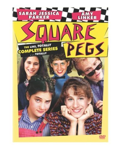 Square Pegs: The Like, Totally Complete Series...Totally [DVD] [1982] (Region 1] [US Import] [NTSC] by Sarah Jessica - Merritt Square