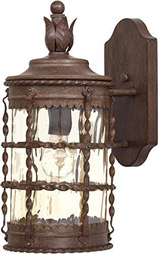 Minka Lavery Outdoor Wall Light 8880-A61 Mallorca Exterior Wall Lantern, 100 Watts, Rust