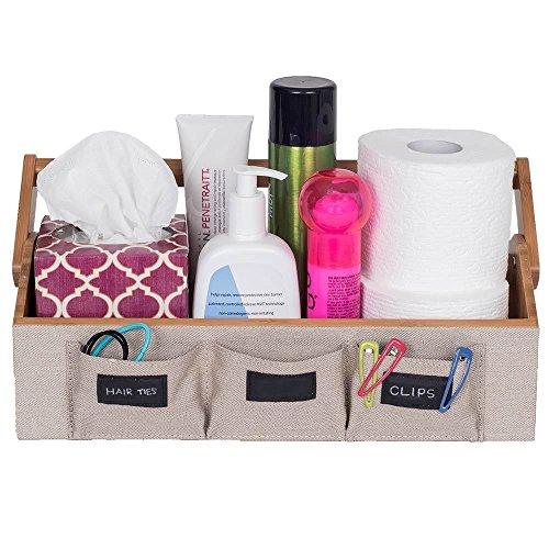 Eco Friendly Bathroom Pockets Leatherette Chalkboard product image